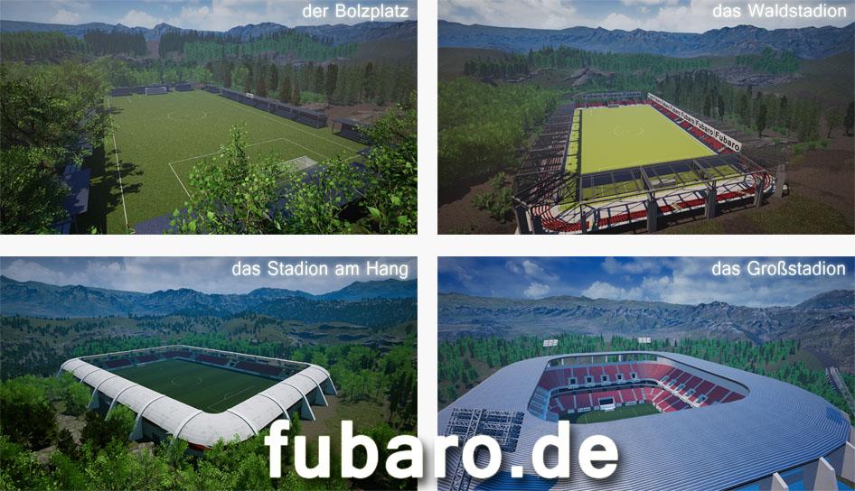 Alle Stadien (Außenansicht) - suche alle Stadien vom online Fußballmanger