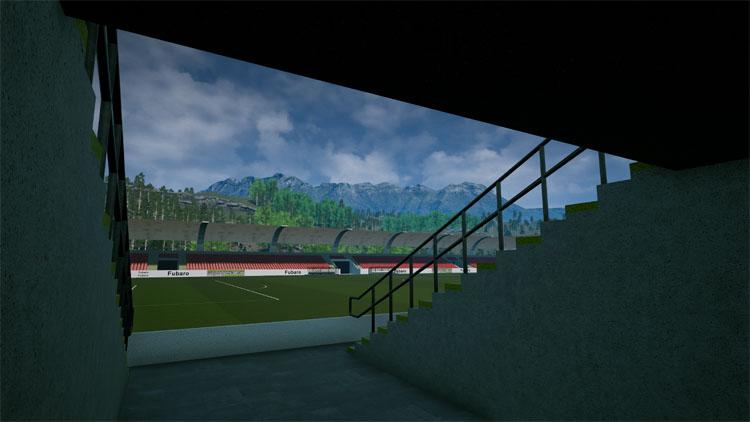 Bild eines Stadioneingangs - Managerspiel online Fußballmanger
