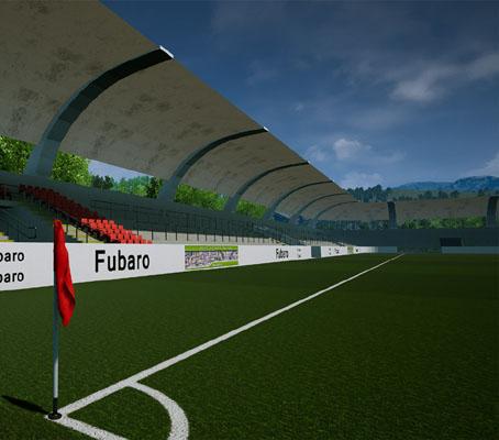 Bild eines Stadions (Innenansicht) - suche online Fußballmanger
